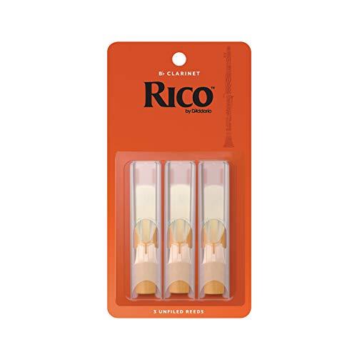 RICO Blätter für Bb-Klarinette Stärke 1.5 (3 Stück)