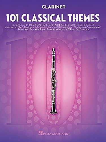 101 Classical Themes -For Clarinet- (Book): Noten, Sammelband für Klarinette