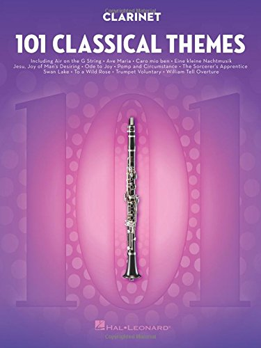 101 Classical Themes -For Clarinet- (Book): Noten, Sammelband für Klarinette
