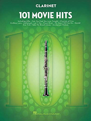 101 Movie Hits For Clarinet: Noten, Sammelband für Klarinette