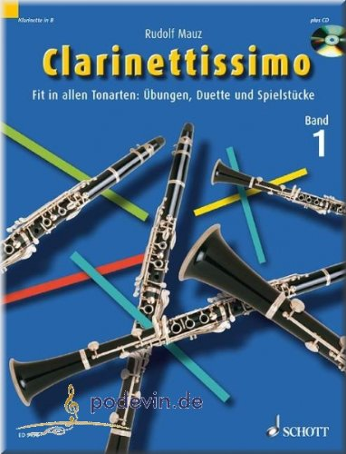 Clarinettissimo 1 - Klarinette Noten [Musiknoten]