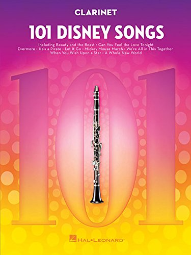 101 Disney Songs -For Clarinet-: Noten, Sammelband für Klarinette