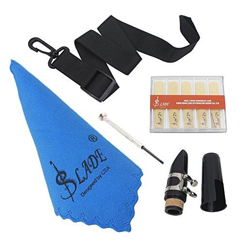 Klarinetten-Werkzeug-Set, Mundstück, Gürtel, Schraubendreher, Reinigungstuch, Ersatzzubehör